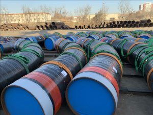 3pe coated pipe bend