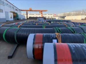 pe tape coated pipe bend